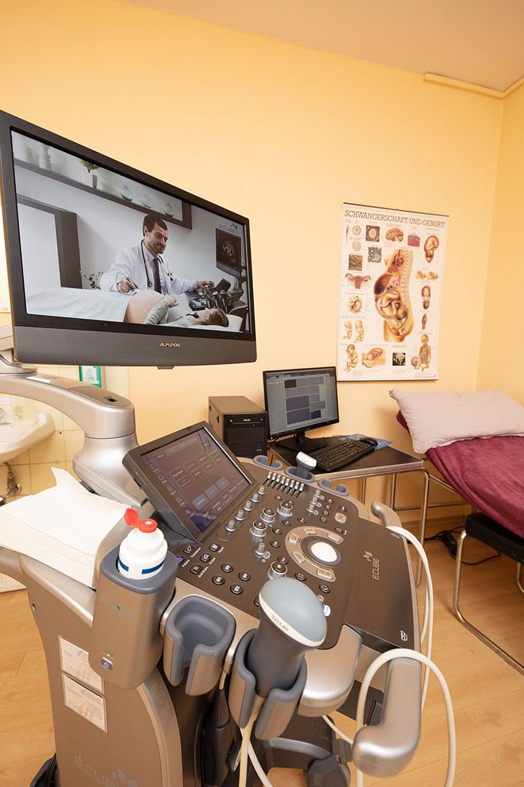 Ultraschalluntersuchung in der Schwangerschaft