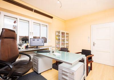 Behandlungszimmer beim Frauenarzt in Deggendorf